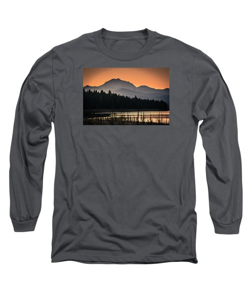 Long Sleeve T-Shirt featuring the photograph Lassen In Autumn Glory by Jan Davies