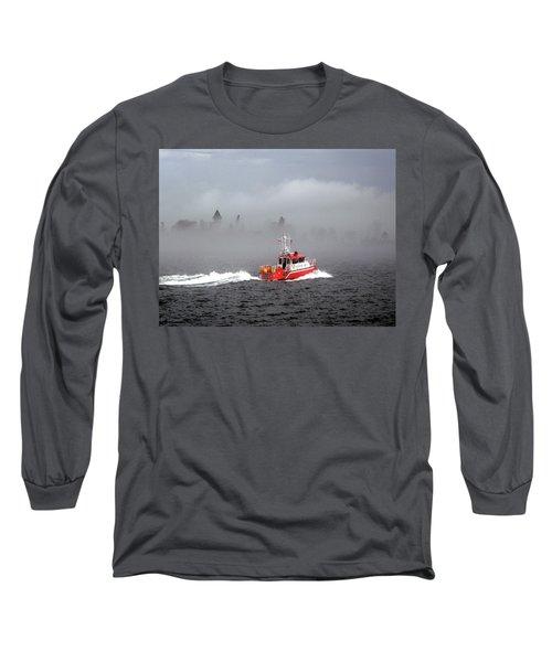 Last Chance Off Calument Island Long Sleeve T-Shirt