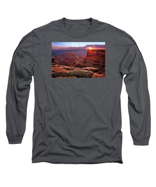 Last Light At Dead Horse Point Long Sleeve T-Shirt