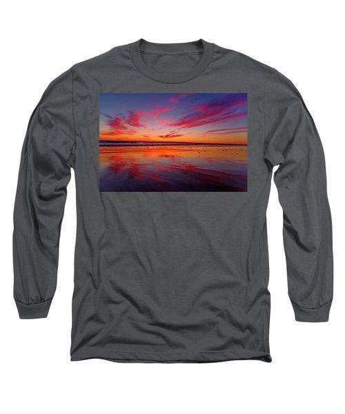 Last Light Topsail Beach Long Sleeve T-Shirt