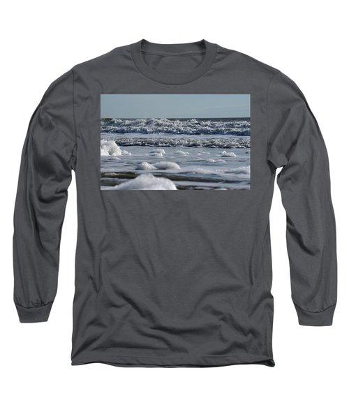 Last Look Of The Season Long Sleeve T-Shirt by Greg Graham