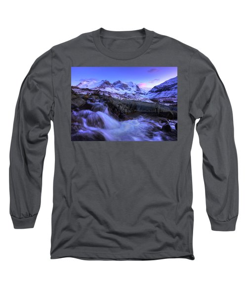 Long Sleeve T-Shirt featuring the photograph Last Rays On Andromeda by Dan Jurak