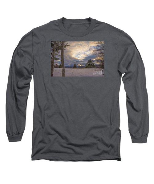 Last Sunset Of 2015 Long Sleeve T-Shirt by Alana Ranney