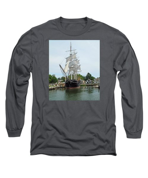 Last Wooden Whale Ship Long Sleeve T-Shirt