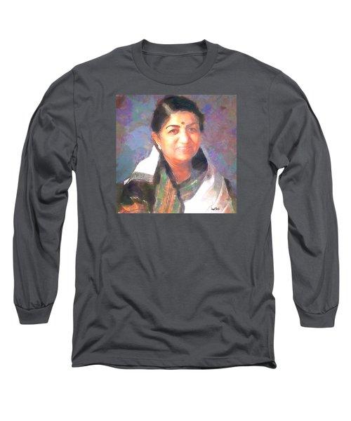 Lata Mangeshkar  Long Sleeve T-Shirt