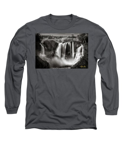 Late Afternoon At The High Falls Long Sleeve T-Shirt