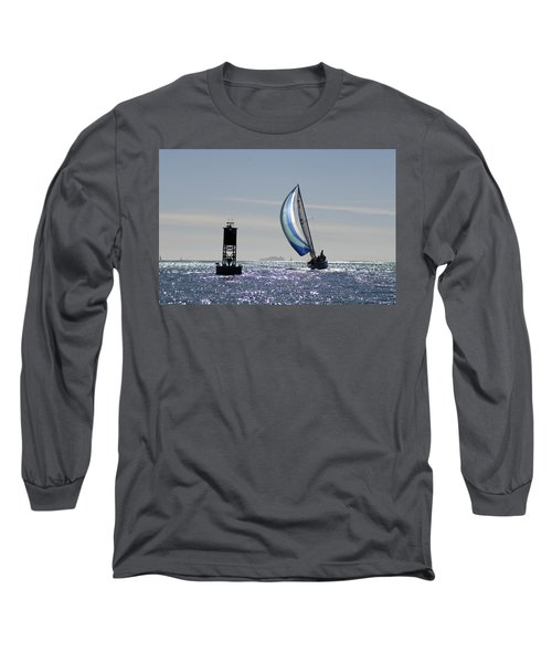 Late Afternoon Sail Long Sleeve T-Shirt