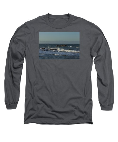Late Afternoon Waves Long Sleeve T-Shirt