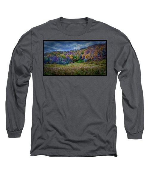 Late Fall On Green Knob Trail Long Sleeve T-Shirt
