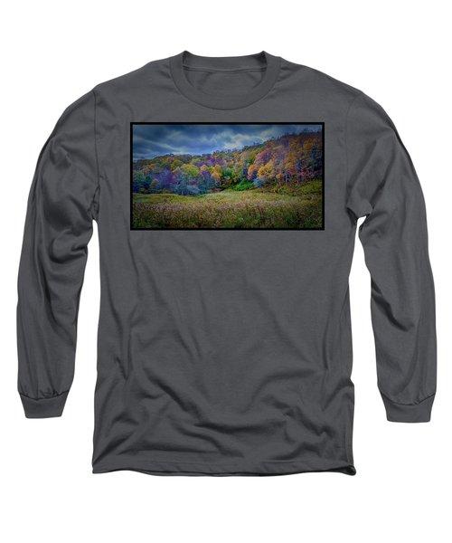 Late Fall On Green Knob Trail Long Sleeve T-Shirt