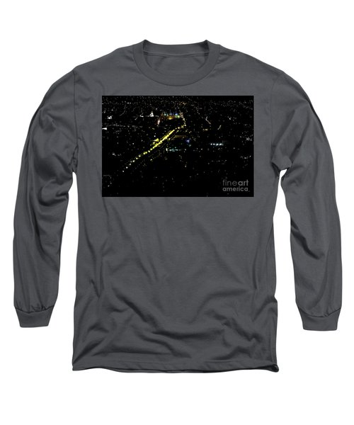Long Sleeve T-Shirt featuring the photograph Late Night In Cuenca, Ecuador by Al Bourassa