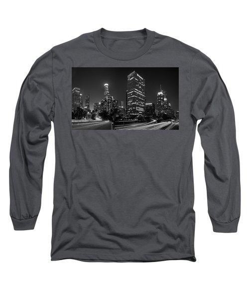Late Night La Long Sleeve T-Shirt