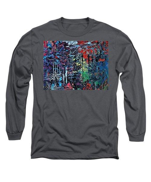 Late Night Reflections Long Sleeve T-Shirt