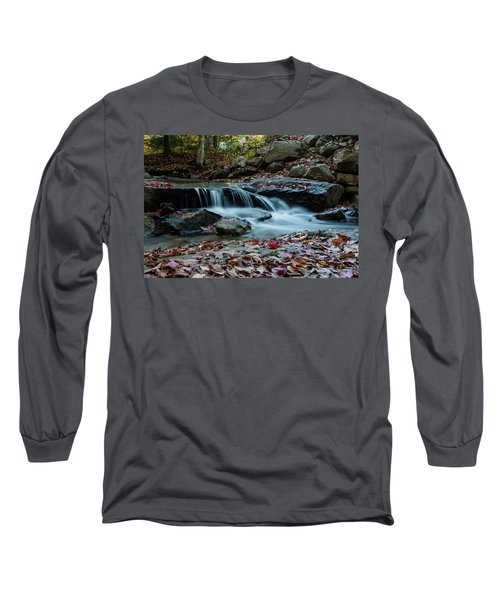 Late October Morning At Coxing Kill Long Sleeve T-Shirt