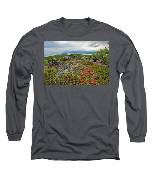 Long Sleeve T-Shirt featuring the photograph Late Summer In The North by Maciej Markiewicz