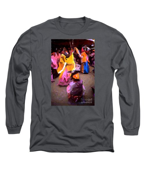 Lathmaar Holi Of Barsana-6 Long Sleeve T-Shirt
