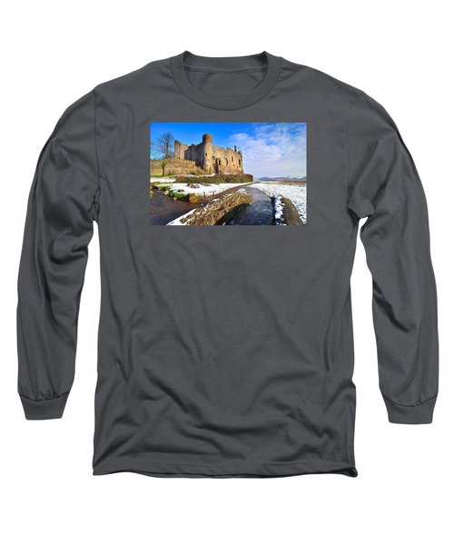 Laugharne Castle 2 Long Sleeve T-Shirt