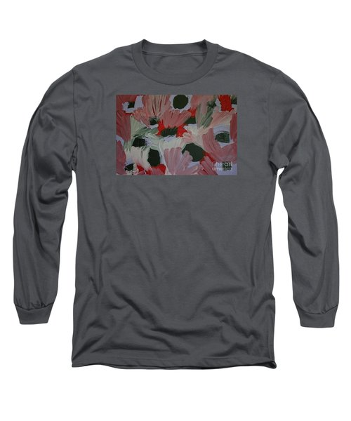 Laughter Long Sleeve T-Shirt by Roberta Byram