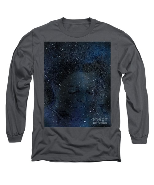 Eat At Judys Laura Palmer Carrie Page Nebula Long Sleeve T-Shirt