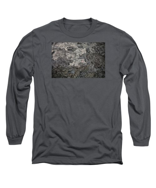 Long Sleeve T-Shirt featuring the photograph Lava Flow by M G Whittingham