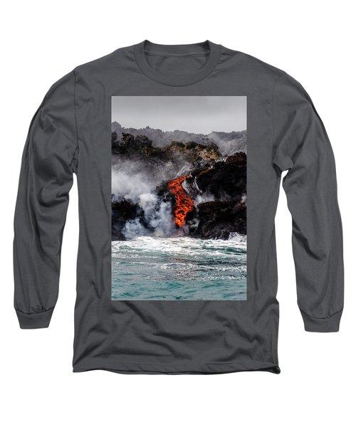 Lava Snake Long Sleeve T-Shirt