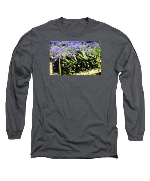 Lavender Bounty Long Sleeve T-Shirt