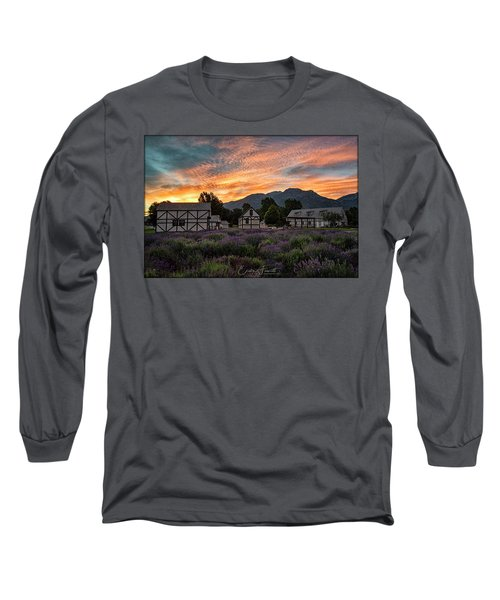 Lavender Fields Long Sleeve T-Shirt