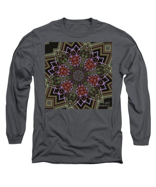 Lavender Mandala 1 Long Sleeve T-Shirt