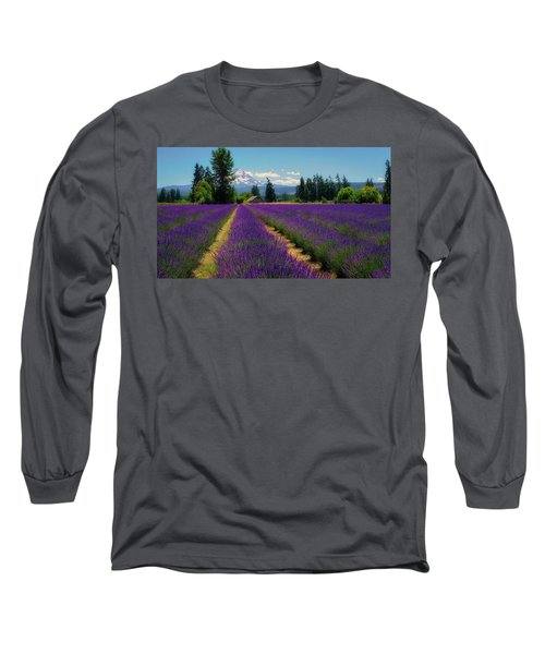 Lavender Valley Farm Long Sleeve T-Shirt
