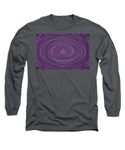 Lavender Vortex Long Sleeve T-Shirt