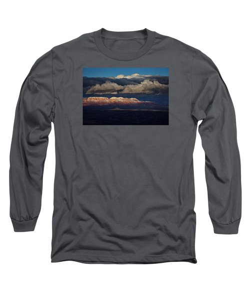 Long Sleeve T-Shirt featuring the photograph Layered Light by Ron Chilston