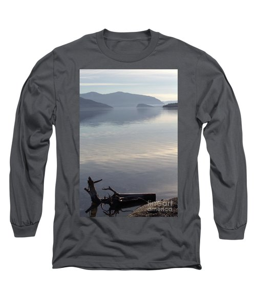 Long Sleeve T-Shirt featuring the photograph Laying Still by Victor K