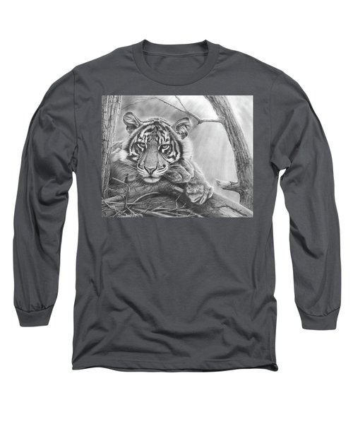 Lazing On A Sunny Afternoon Long Sleeve T-Shirt