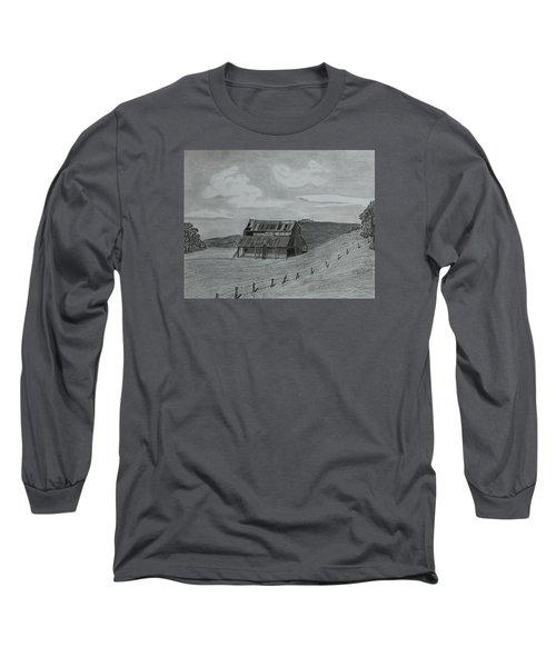 Lazy  Days  Long Sleeve T-Shirt by Tony Clark