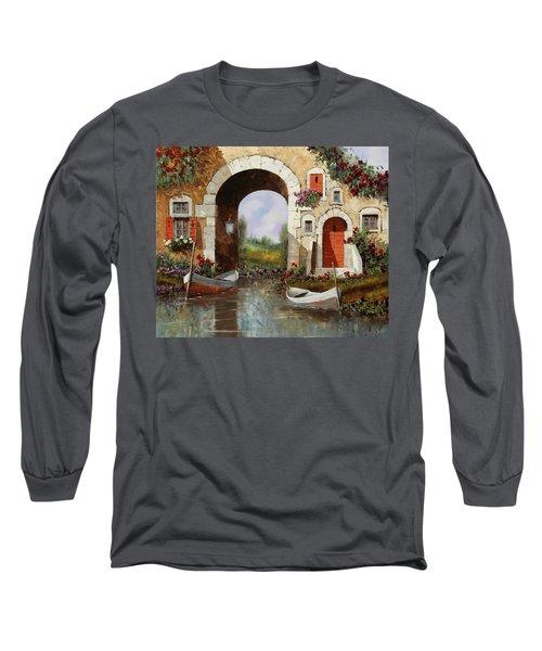 Le Barche Sotto L'arco Long Sleeve T-Shirt