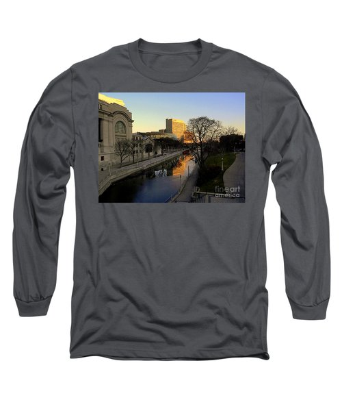 Long Sleeve T-Shirt featuring the photograph Le Rideau, by Elfriede Fulda