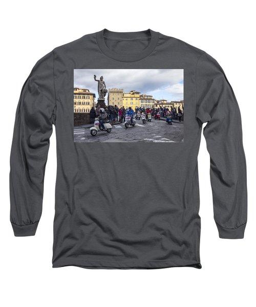 Vespe Di Firenze Long Sleeve T-Shirt