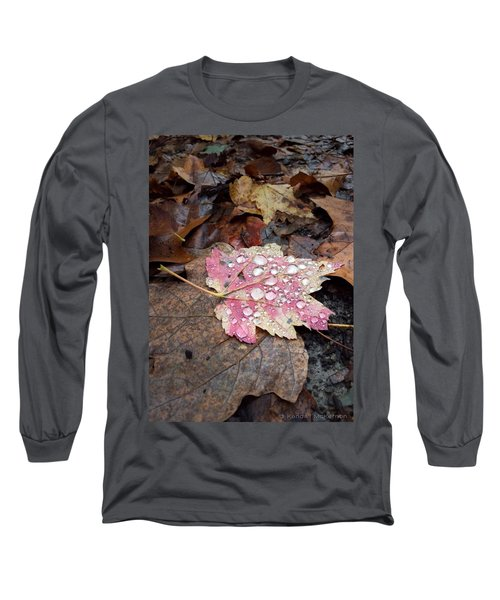 Leaf Bling Long Sleeve T-Shirt