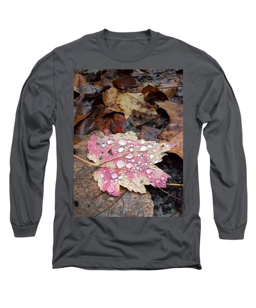 Leaf Bling Long Sleeve T-Shirt