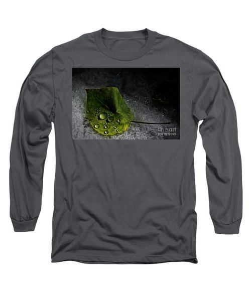 Leaf Droplets Long Sleeve T-Shirt