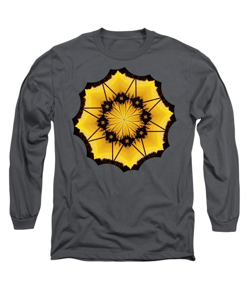 Leafy Kaleidoscope 2 Long Sleeve T-Shirt