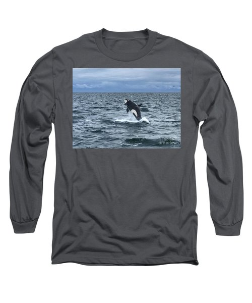 Leaping Orca Long Sleeve T-Shirt
