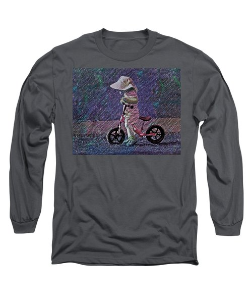 Learning To Ride Long Sleeve T-Shirt