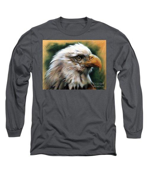Leather Eagle Long Sleeve T-Shirt