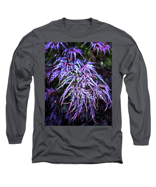 Leaves In The Light Long Sleeve T-Shirt