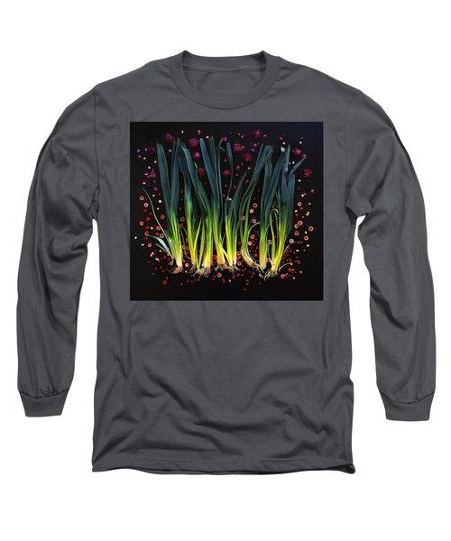 Leeks Long Sleeve T-Shirt