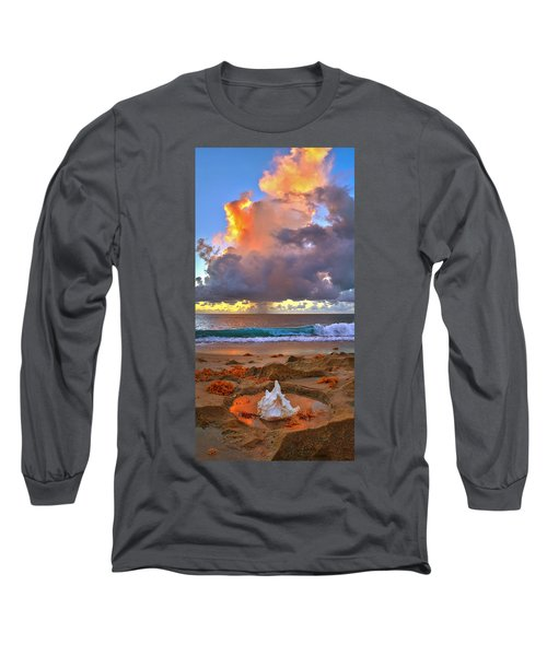 Left Behind - From Singer Island Florida. Long Sleeve T-Shirt