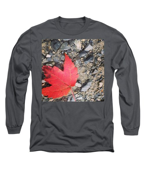 Left For Red Long Sleeve T-Shirt by Jason Nicholas