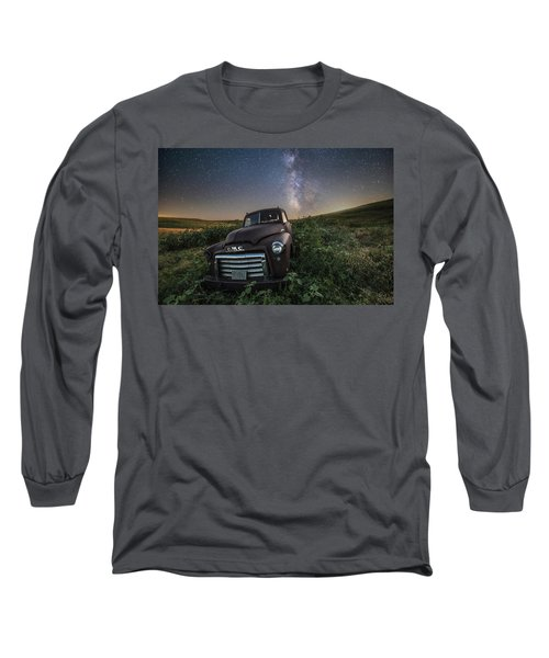 Long Sleeve T-Shirt featuring the photograph Left To Rust by Aaron J Groen