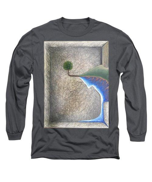 Left Universe Long Sleeve T-Shirt by Steve  Hester